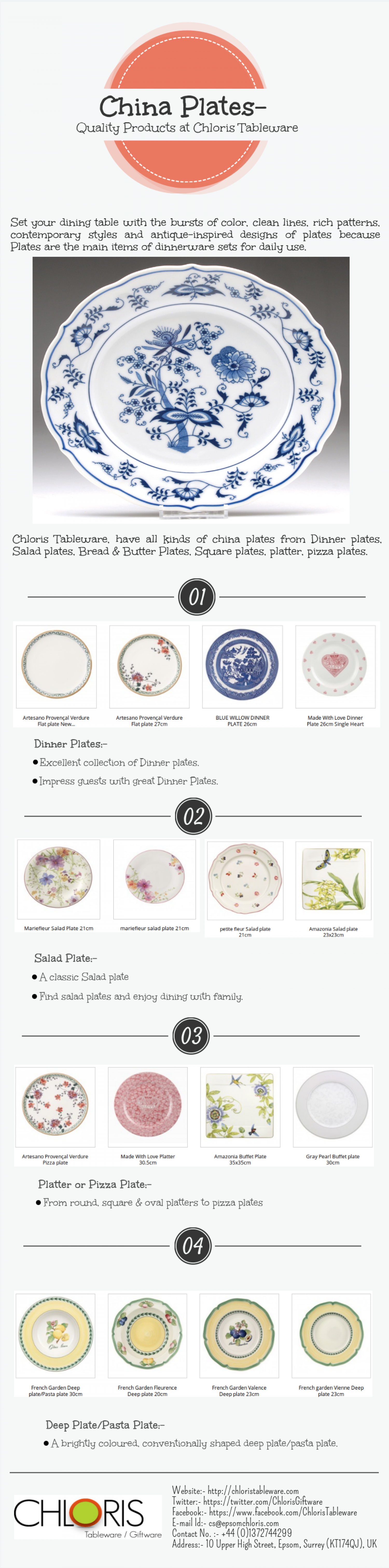 Quality China Dinnerware China Plates Quality Products At Chloris Tableware Cedae
