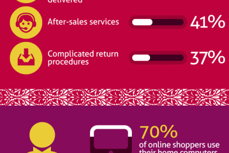 Chinese Online Shopping Trends Infographic