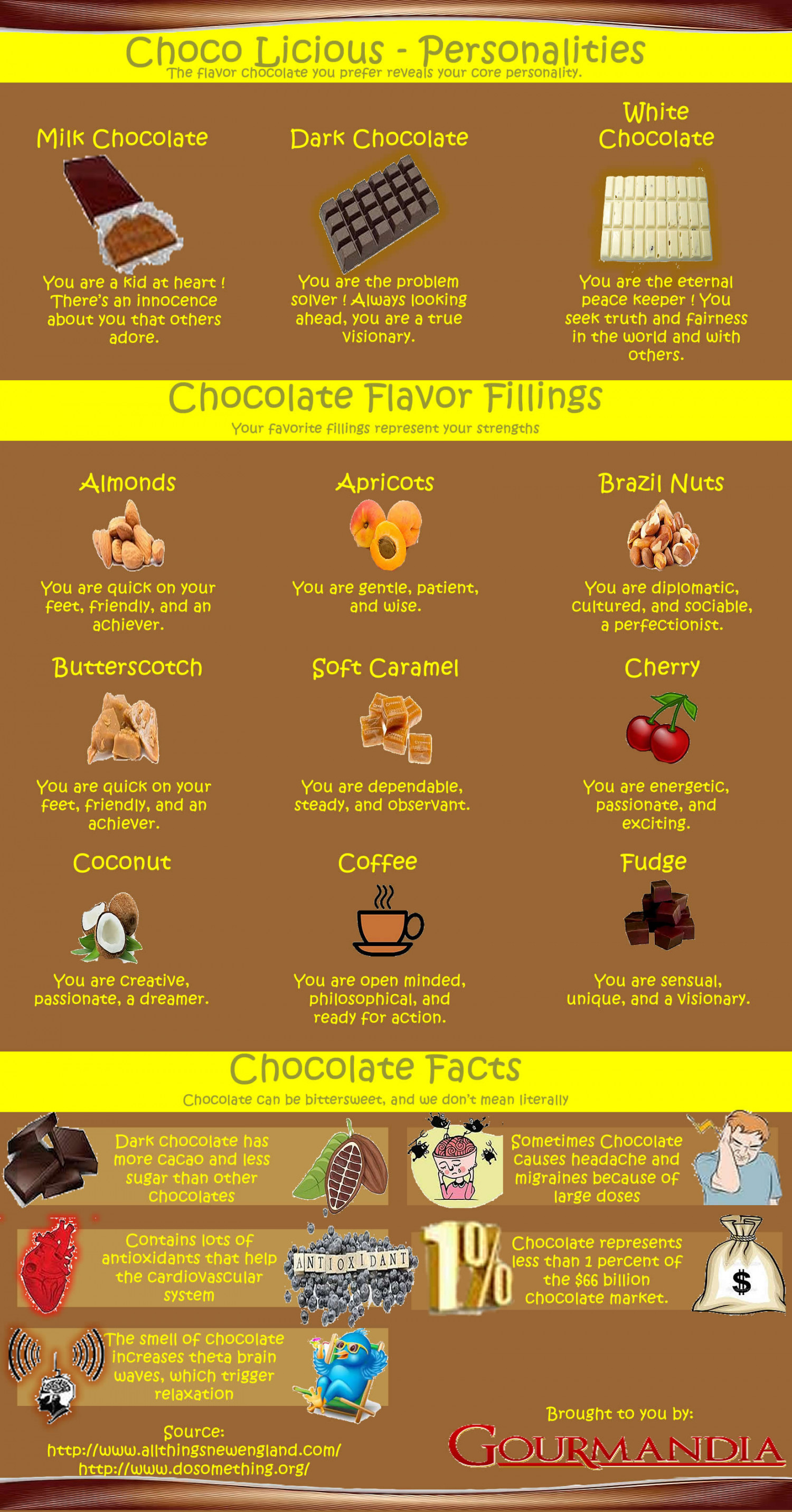 Chocolicious Infographic