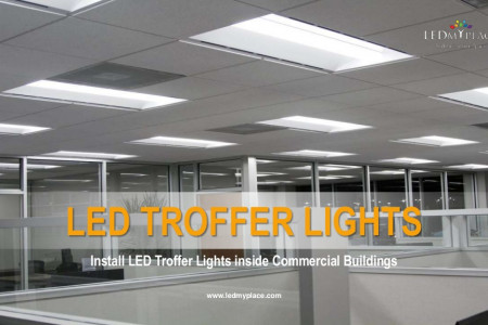 Choose LED Troffer Lights To Replace Traditional Troffers Infographic