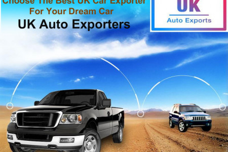 Choose The Best UK Car Exporter For Your Dream Car - UK Auto Exporter Infographic