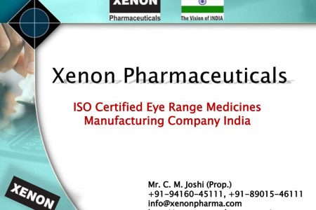 Choose Xenon Pharmaceuticals for Better Eye Drops Manufacturing Infographic