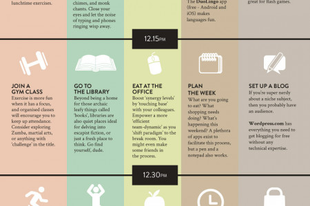 Choose Your Own Lunchtime Adventure  Infographic