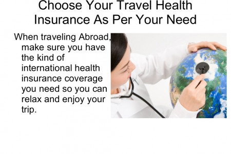 Choose Your Travel Health Insurance As Per Your Need Infographic
