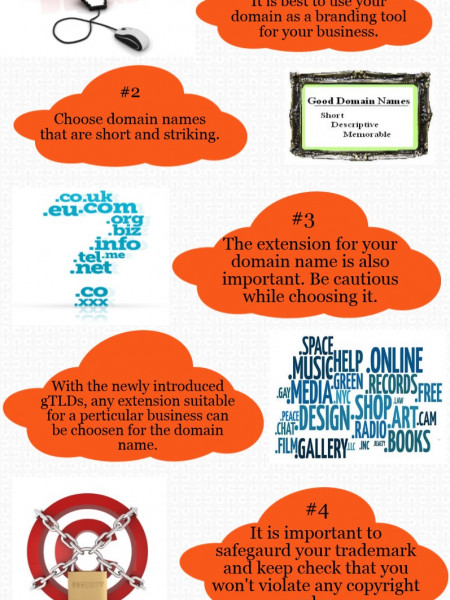 Choosing The Best Domain For Your Business. Infographic