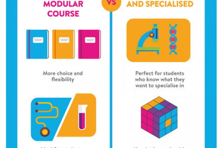 Choosing the right university course for you Infographic