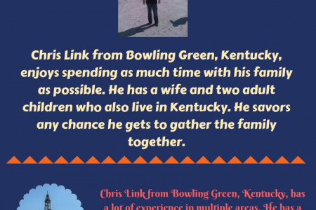 Chris Link from Bowling Green, Kentucky Work Experience Infographic