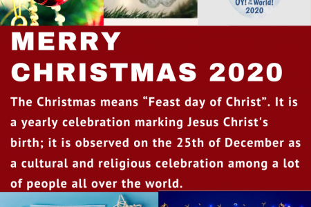 Christmas and New Year- Festive Season 2020 Infographic