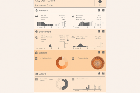 City Dashboard Amsterdam Infographic