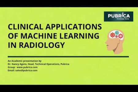 Clinical applications of Machine learning in Radiology: Pubrica.com Infographic