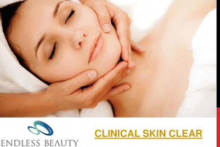 Clinical Skin Clear - Endless Beauty Infographic