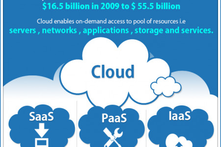 #CloudComputing Continues to Thrive : #SaaS Still the Show Stopper Infographic