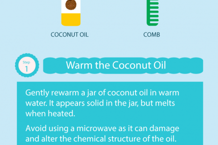 Coconut Oil Benefits for Hair Growth  Infographic