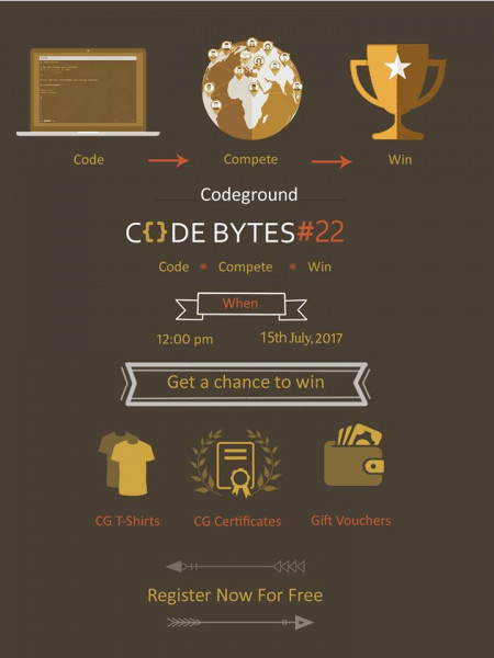 CODEBYTE #22 - Weekly Coding Contest Infographic