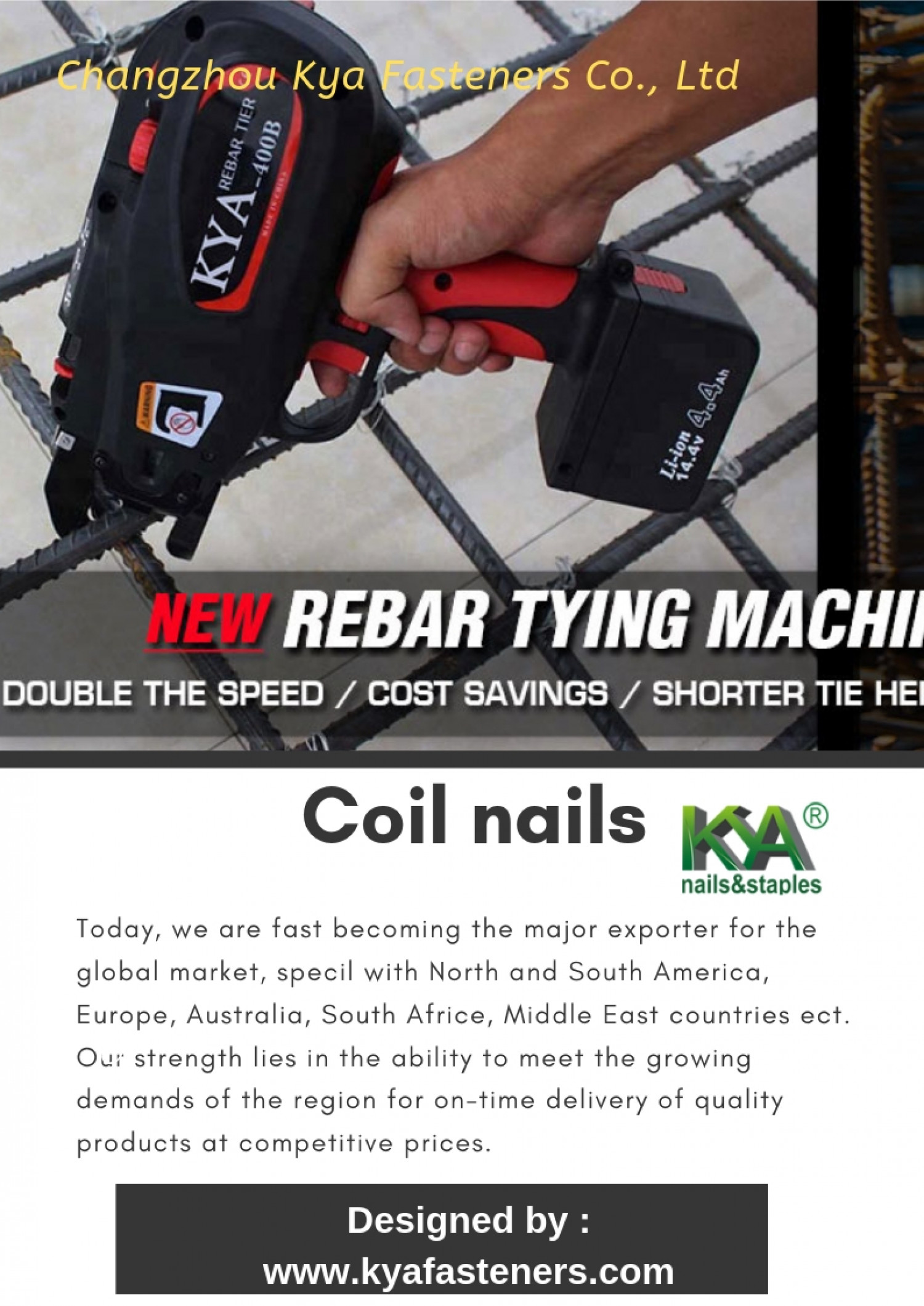 Coil nails Infographic