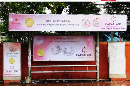 Coimbatore Bus Shelters Advertising Display | Vantage Outdoor Media  Infographic