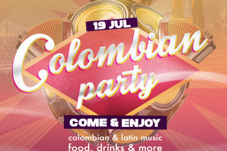 Colombian party Infographic
