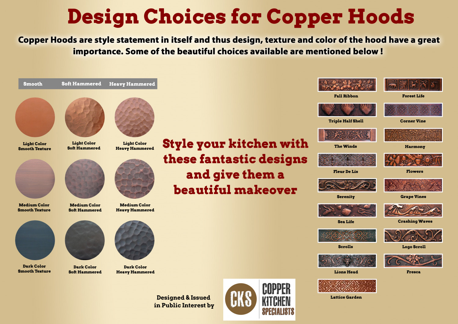 Design Choices for Hoods  Infographic