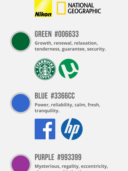 Color Selection to Reach Your Target Market Infographic