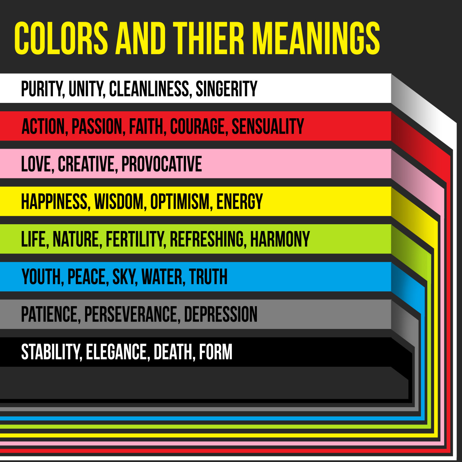 Colors and their meanings | Visual.ly