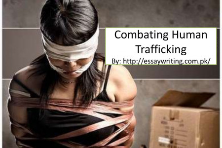 Combating human trafficking Infographic