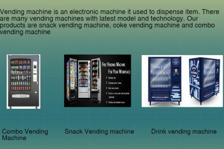 Combo vending machine supplier in Brisbane Infographic