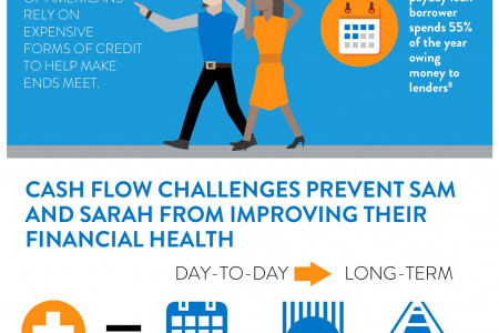 Coming Up Short: Household Liquidity Challenges Infographic