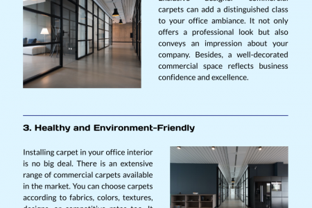 Commercial Carpet Add Goodness to Your Commercial Space Infographic