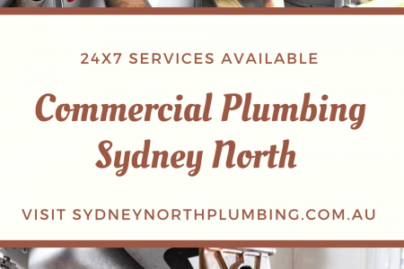 Commercial Plumbing Sydney North Infographic