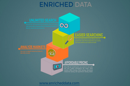 Commercial Real Estate -  Enriched Data Infographic