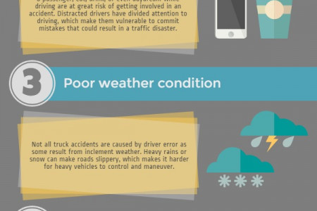 Common Causes of Truck Accidents and How to Prevent it Infographic