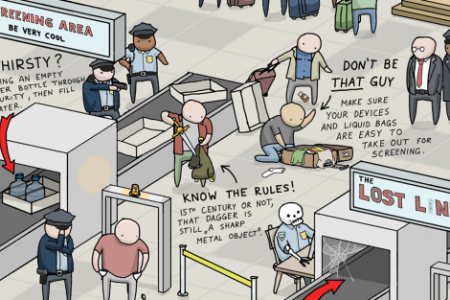 Common Sense Airport Hacks to Make Flying Suck Less Infographic