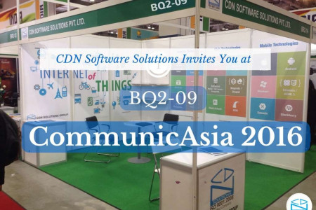 CommunicAsia 2016 - Meet your IT Partner: CDN Solutions Group Infographic