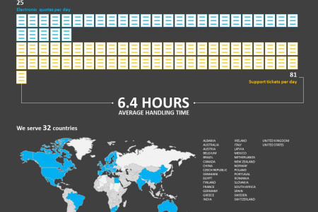 Company Annual Performance Infographic Infographic
