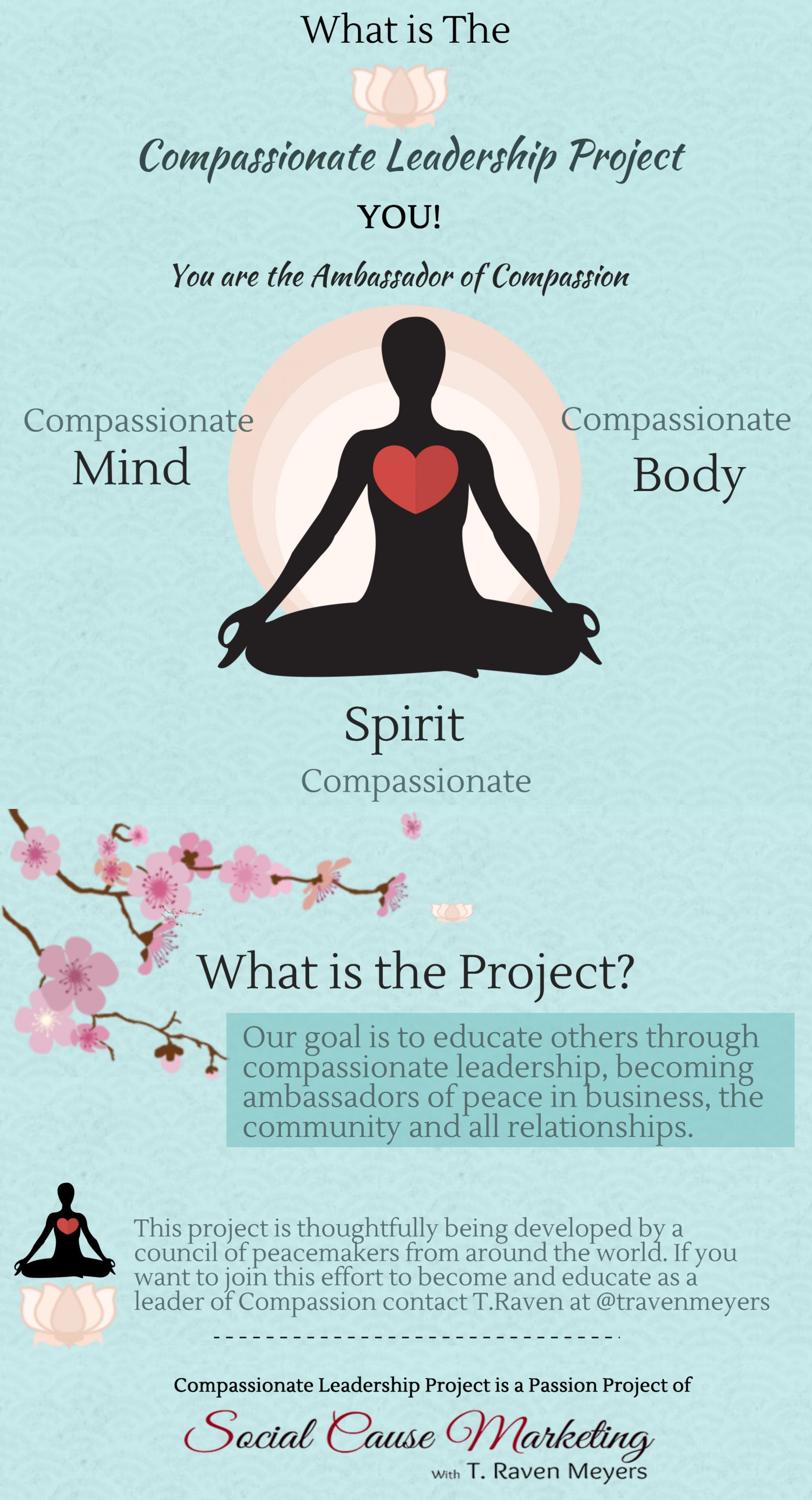 Compassionate Leadership Project  Infographic