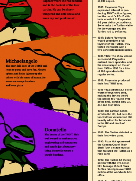 Complete Guide to TMNT Infographic