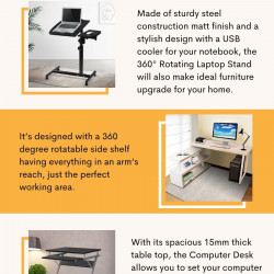 Computer Desk   Computer Stand with Afterpay - Furniture Offers