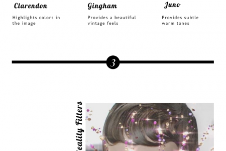 Connect Your Audience With Instagram Filters! Infographic