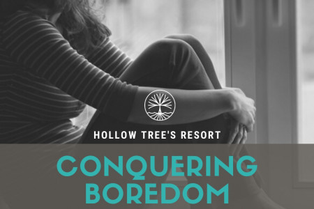 Conquering Boredom While Stuck at Home Infographic