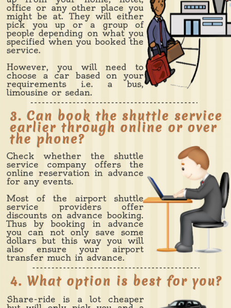 Considerations Before Hiring A Shuttle Service  Infographic