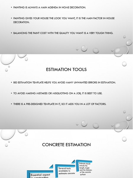 Constructions Estimation Infographic