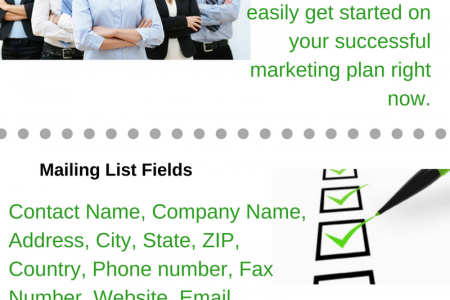 Consultants Email Lists Infographic