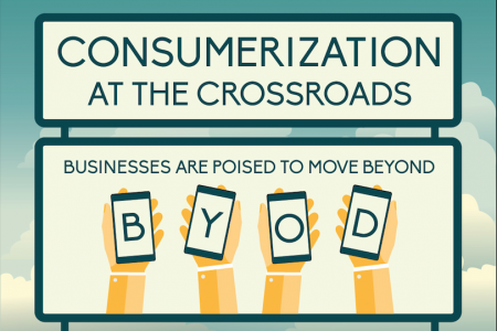 Consumerization at the Crossroads Infographic