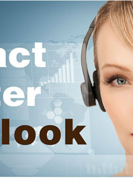 Contact Center Outlook Infographic