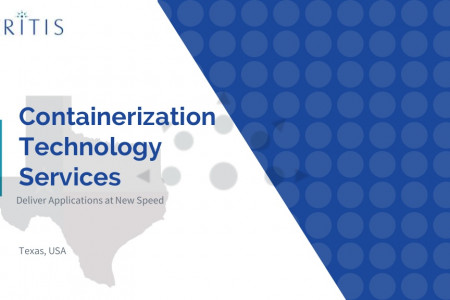 Container Technology Services - Texas, USA Infographic