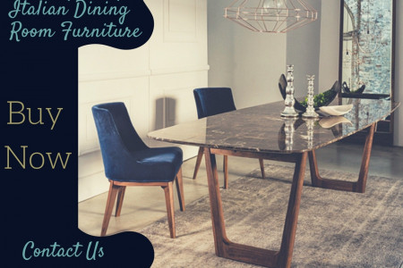 Contemporary Italian Dining Room Furniture Infographic