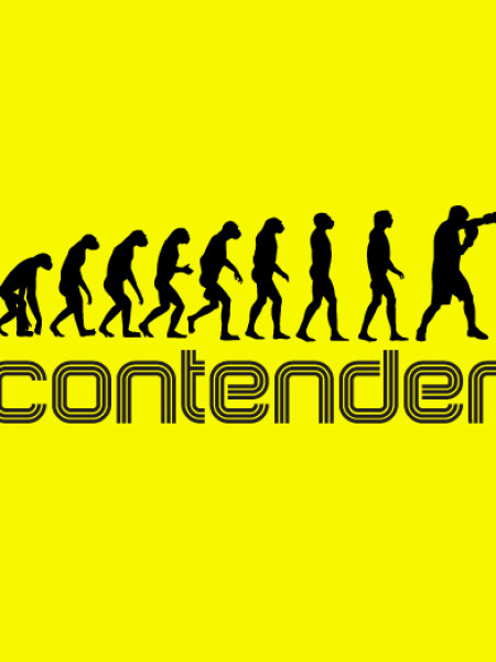Contender Boxing T-Shirt Infographic