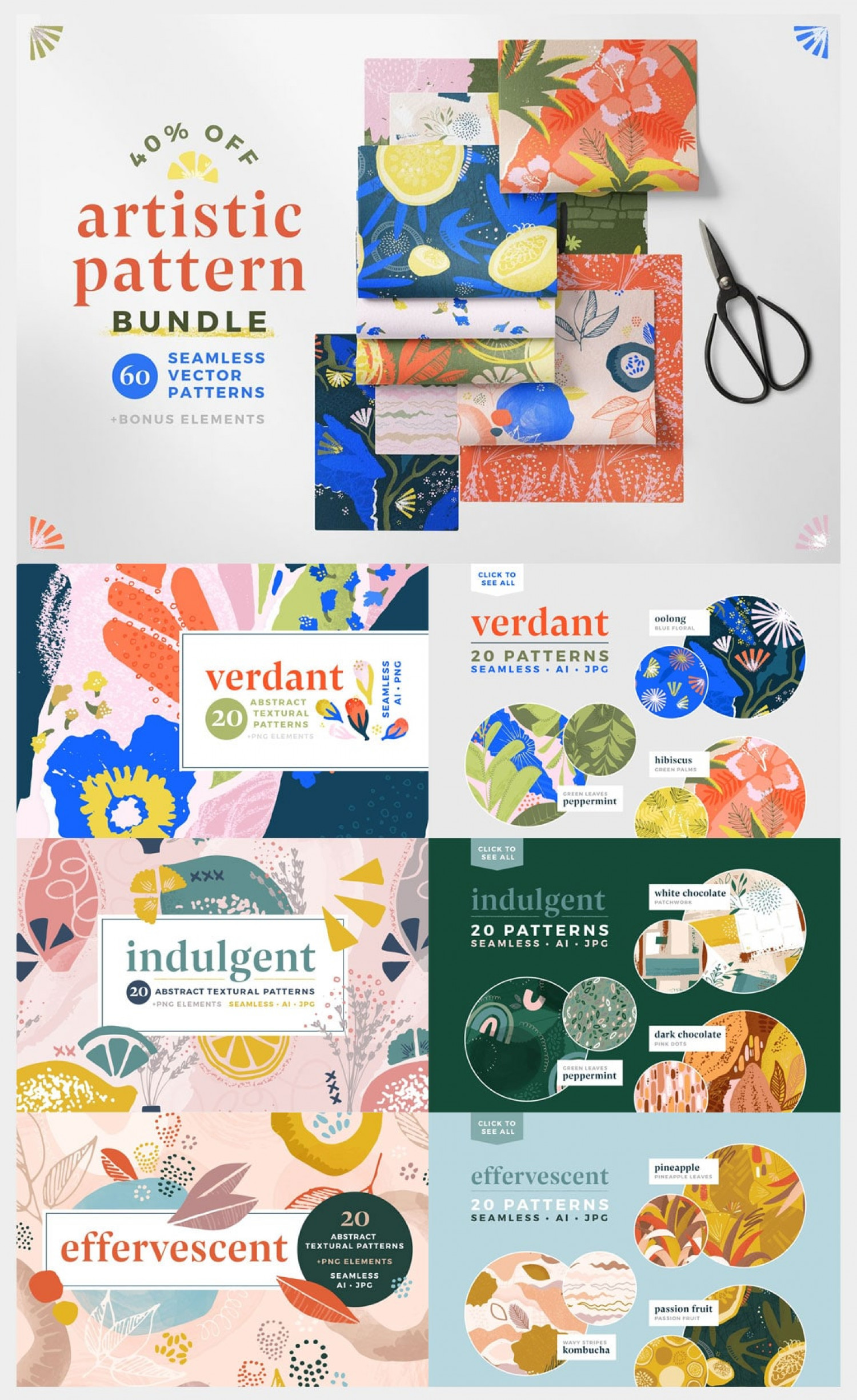 Cool Patterns for Designers Infographic