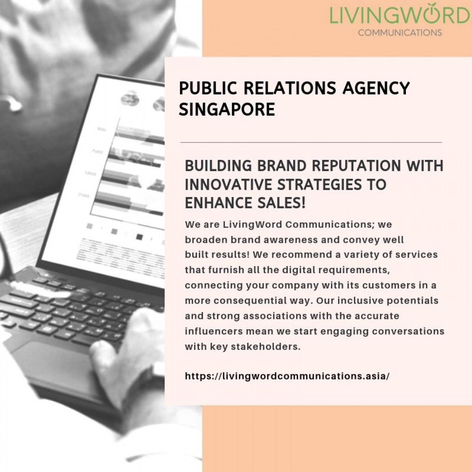 Corporate Comms agency Infographic