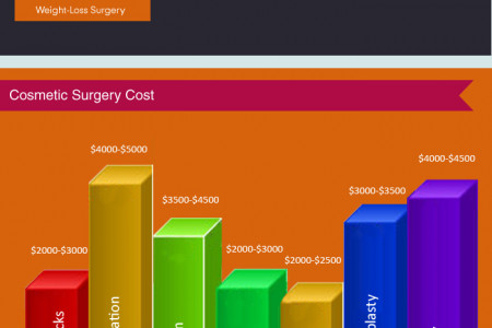 cosmetic surgery Infographic
